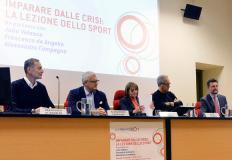 Francesco de Angelis, Alessandro Campagna, Bruna Rossi, Julio Velasco e Paolo Bouquet
