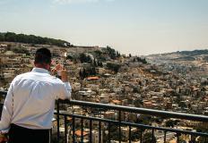Vista del quartiere palestinese di Silwan