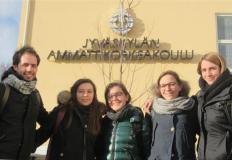 Foto degli studenti: Francesca Bertè, Giulia Boller, Giulia Piffer, Alberto Scala e Federica Zanotto