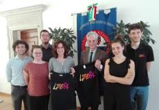 Presidio universitario di Libera con il rettore Collini e la professoressa Poggio