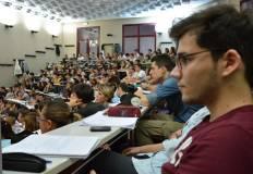 aula universitaria durante una lezione