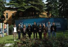 La giuria studentesca del Trento Film Festival.