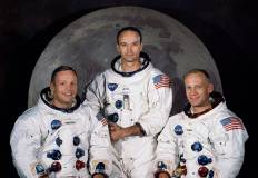 Gli astronauti di Apollo XI