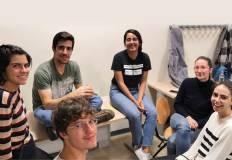 Gruppo di partecipanti al progetto Tandem Language Learning. Foto archivio Università di Trento