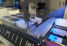 Il sistma robotico per l'analisi dei tamponi
