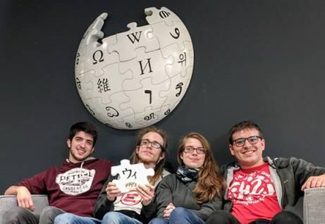 Il team UniTrento in Silicon Valley. Archivio Università di Trento.