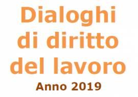 Dialoghi di diritto del lavoro - IV ciclo di incontri